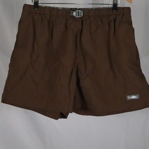 Against The Elements Brown Swim Trunks  32 -38  XL